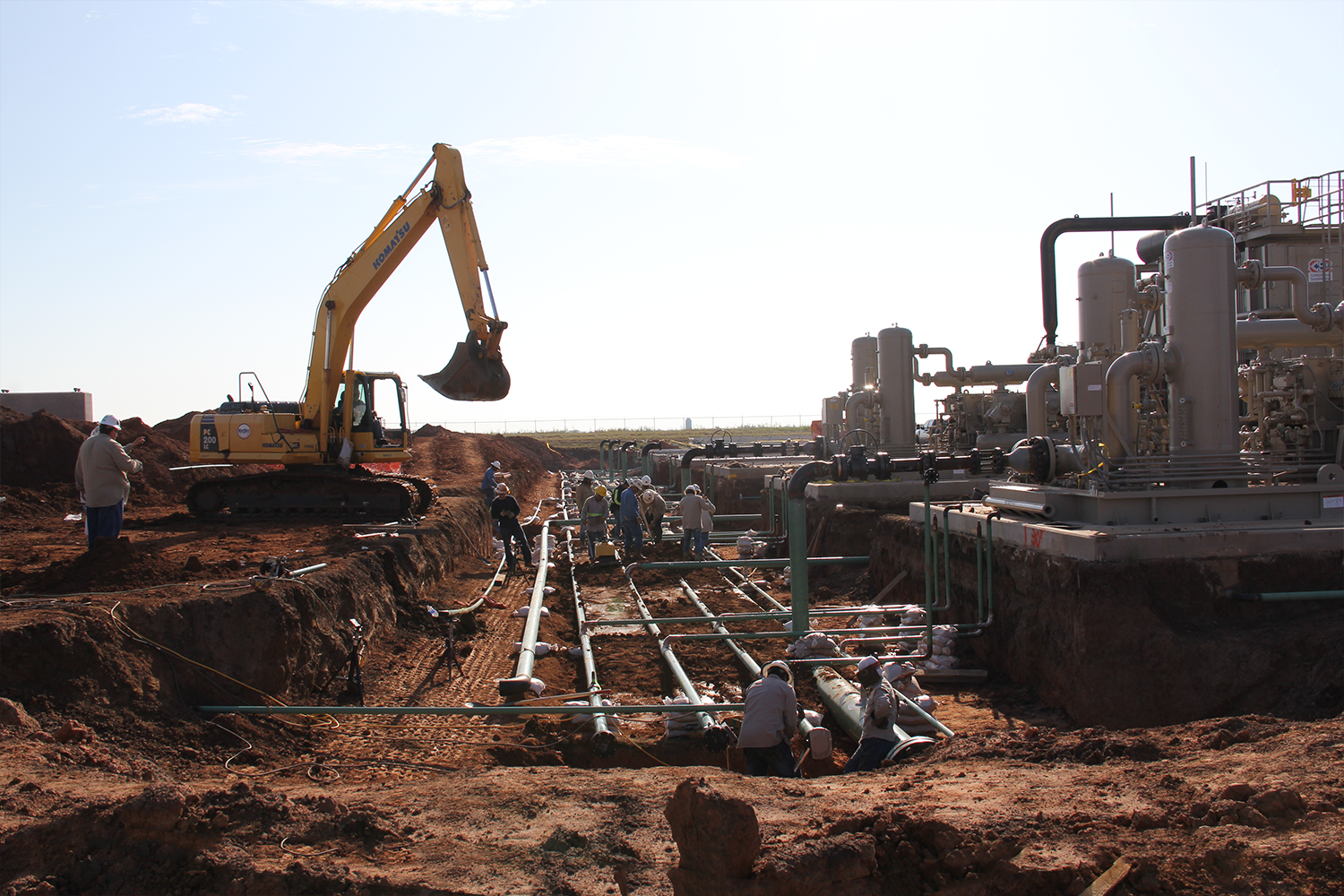 Pipeline Construction Gateway Full Circle Energy Services
